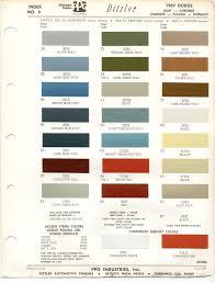 paint chips 1969 dodge