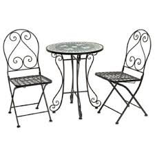 Bed Bath And Beyond Stamford For Guest Patio Mosaic 3 Piece Bistro Set Bedbathandbeyond Com