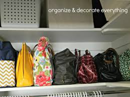 Organizing Store Organizing And Storing Handbags Organize And Decorate Everything