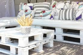 palette canapé diy bricolage canapé de jardin palettes bois table basse carree