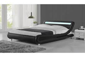 Platform Bed King Sized Bedroom Low Profile Headboard For Elegant Your Bed Design Ideas