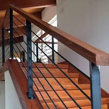 Wood Banisters And Railings Best 25 Steel Railing Ideas On Pinterest Perforated Metal