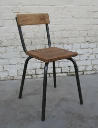 chaise m tal industriel chaise mtal excellent pivotant patio manger chaise ramon ensemble