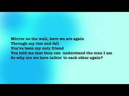 Mirror On The Wall Lyrics Lil Wayne Ft Bruno Mars Mirror Lyrics Vidbb Com Music Search