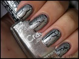 my nail graffiti sally hansen crackle overcoat review
