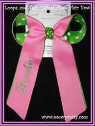 personalized bows http o sewpretty personalizedhairbows aspx
