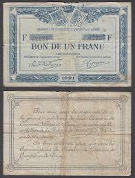 chambre de commerce brest 1 franc 1918 f condition banknote quimper de brest ebay