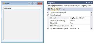 devexpress layout control video tutorial creating a simple layout form layout managers winforms