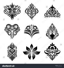 icon ornamental 9 vector set stock vector 140045779