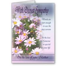 sympathy cards christian deepest sympathy condolences loss of with
