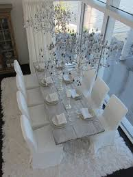 Best Dining Rooms Images On Pinterest Kitchen Dining Room - All white dining room