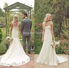 beach wedding dresses no train strapless chapel train sleeveless