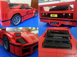 lego ferrari f40 great discovering the best bed for kids with ferrari car room