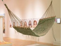 naturalise a hammock made from soilless living plants