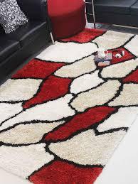 Colorful Shag Rugs Buy Handmade Polyester Multicolor Shag Rug K00036 Online