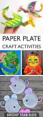 17 paper plate craft ideas bright star kids