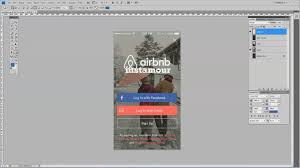 How Does Home Design App Work by How To Design A Mobile App Signup Screen In Adobe Photoshop Youtube