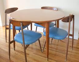 dining room mid century modern tables round table bases teak