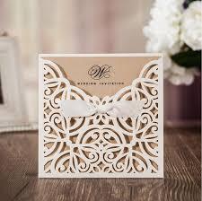 pocket wedding invites rustic laser cut lace pocket wedding invitations card birthday