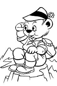 bear coloring pages coloringpages1001 com
