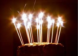birthday cake sparklers sweet pea novelty candles