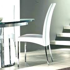 Modern Dining Chairs Leather Dining Chairs Modern Chair Design Ideas Simple White Modern