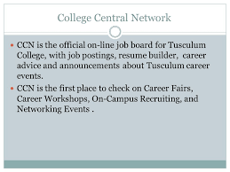 college central resume builder how to prepare for the search tusculum experience class your