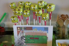 plants vs zombies party ideas u0026 printables the shady lane