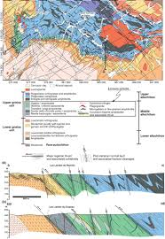 Utm Zone Map Revised Geological Map And New Cross Sections For Central
