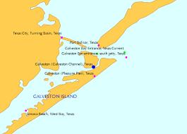 galveston island map galveston galveston channel tide chart