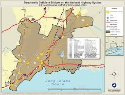 Amtrak National Map by Arcnews Spring 2004 Issue National Bridge Inventory Data Made
