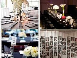 decoration mariage noir et blanc deco de salle de mariage par delph66