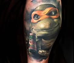 portrait tattoo ninja turtles benjamin laukis 318