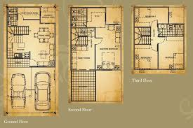 Townhome Floor Plan Designs Philippines House Floor Plan Designs House Design Plans