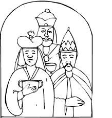Wise Men Came With Gifts To Worship Little Jesus Coloring Page Wise Worship Coloring Page
