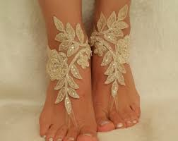 wedding barefoot sandals wedding barefoot sandals etsy
