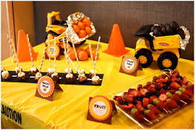 truck birthday party there are only two ways to live your construction truck
