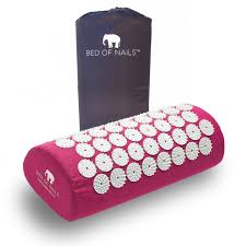 amazon com bed of nails pink original acupressure mat for back