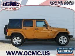 orange jeep wrangler unlimited for sale 2012 jeep wrangler unlimited sahara for sale in jacksonville