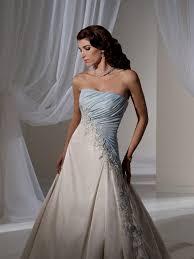 Wedding Dresses Light Blue Light Blue And White Wedding Dress Naf Dresses