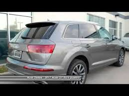pre owned audi suv 2017 audi q7 fort worth certified audis pre owned audis preowned