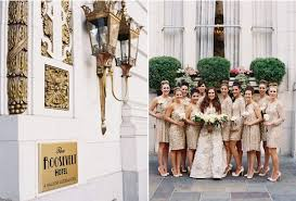 wedding dresses new orleans new orleans black tie wedding bridesmaids gold