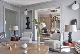 Parisian Interior Design  Images Of Chic Paris Apartments  Style - Interior design classic style