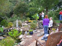 night water garden tour chester county pa turpin landscaping