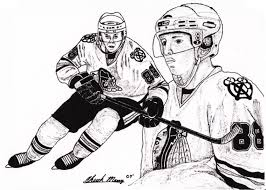 blackhawks coloring pages kids coloring