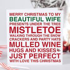 christmas card wife christmas lights decoration