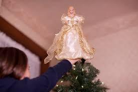 christmas tree angel tree topper