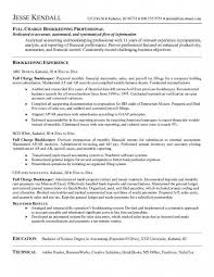 bookkeeper resume bookeeping resume cover letter