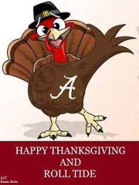 image result for happy thanksgiving wishes for alabama football fans