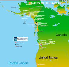 Arctic Map Travel To The Arctic Circle On Holland America U0027s Extended Vacation
